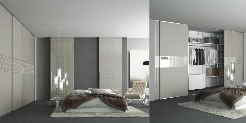 Le cabine armadio su misura il tuo spazio personale - Porte scorrevoli per cabina armadio ...