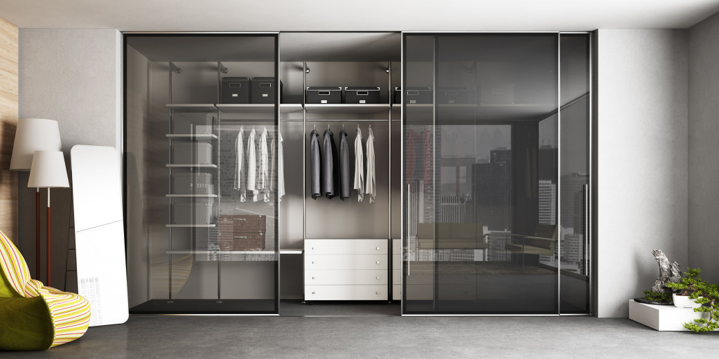 Le cabine armadio su misura il tuo spazio personale - Ante per cabina armadio ...