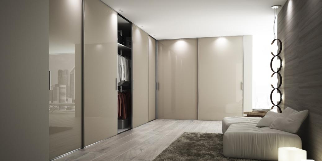 Cabine armadio su misura porte scorrevoli e battenti per arredamento moderno e contemporaneo - Armadio con porte scorrevoli ...
