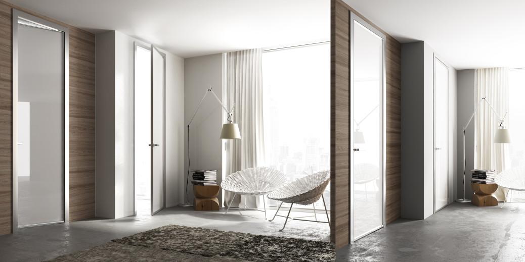 Porta battente per interni una porta tecnica ed essenziale - Montare telaio porta ...