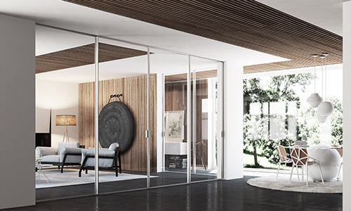 Easy-S: la porta scorrevole leggera ed accessibile