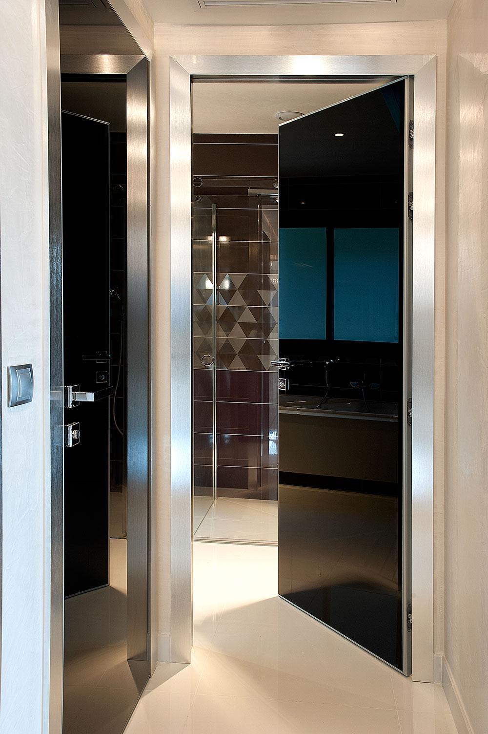 Villefrance sur mer porte scorrevoli e battenti per arredamento moderno e contemporaneo - Porte scorrevoli a specchio ...