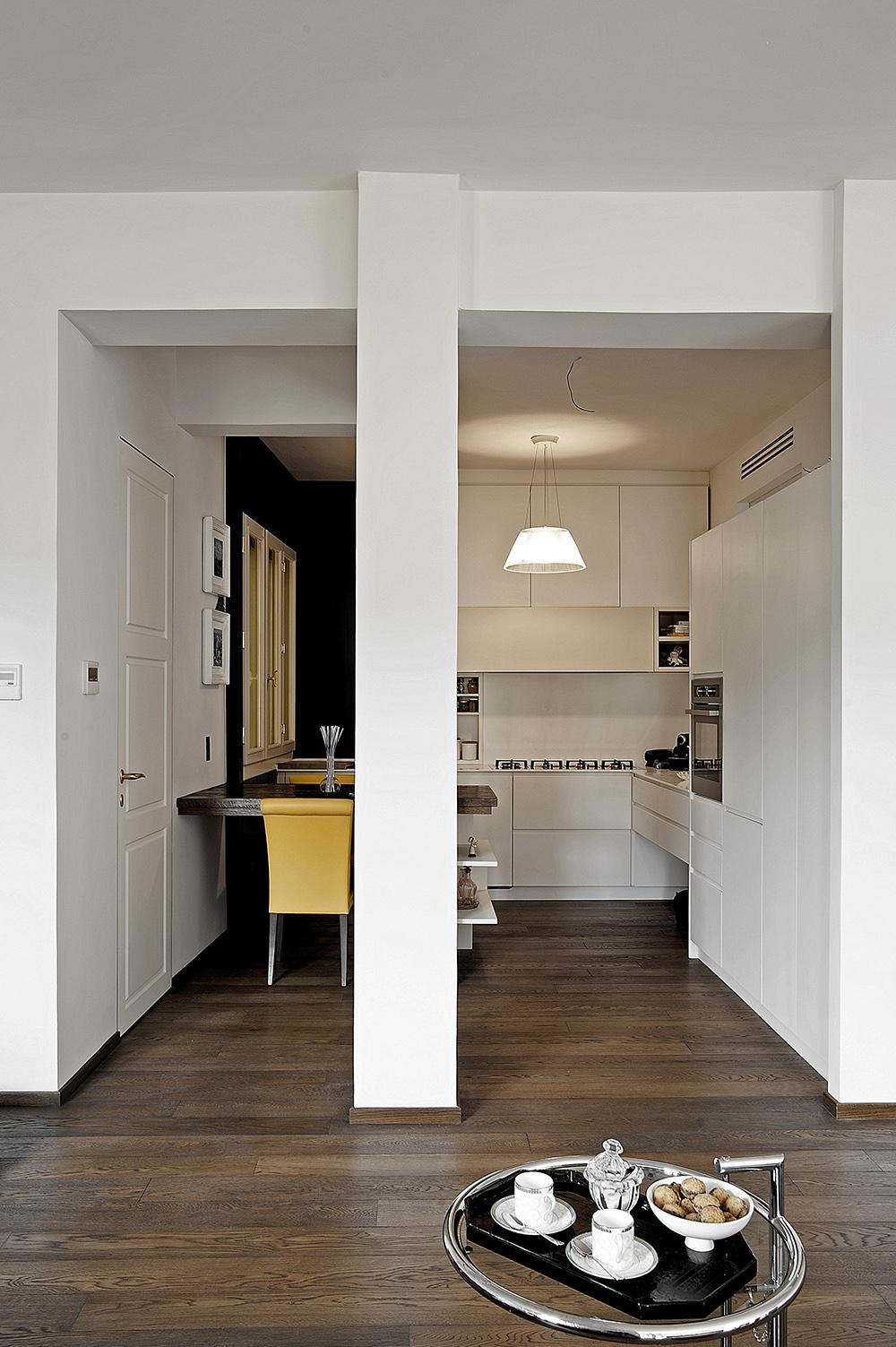 Appartamento a Firenze - Porte scorrevoli e battenti per arredamento moderno e contemporaneo