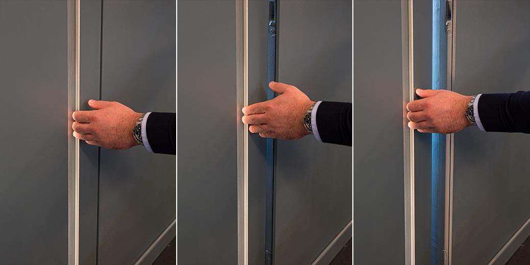Staino&Staino Porta battente con luce integrata XDoor©