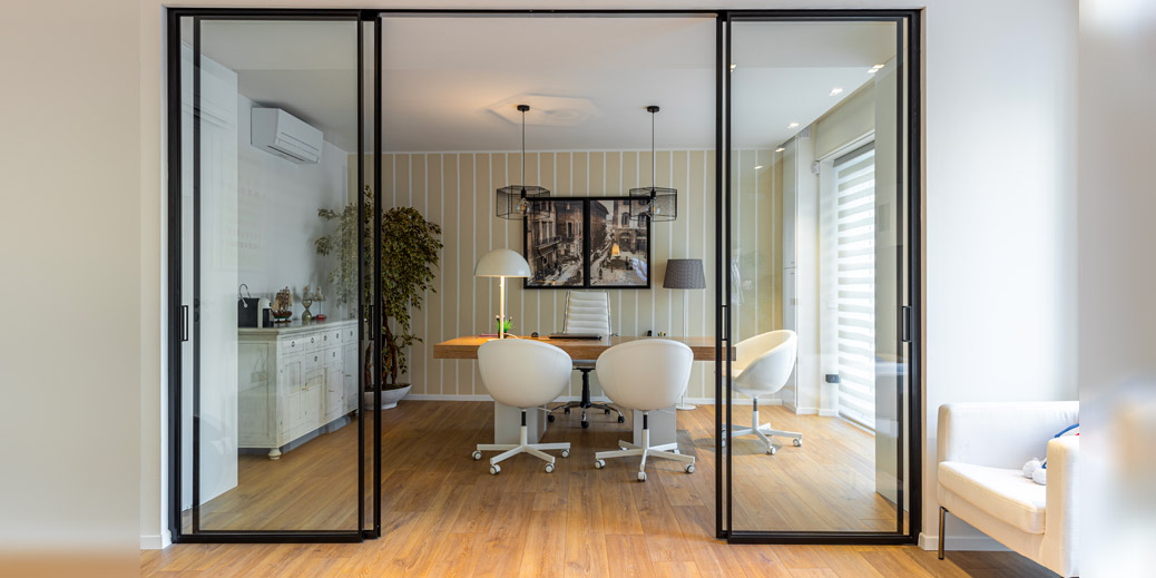 Porte scorrevoli Easy-S progetto Habitat